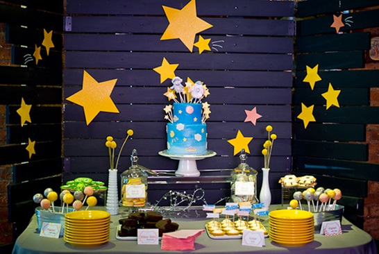 Exceptional Outer Space Baby Shower, Space Themed
