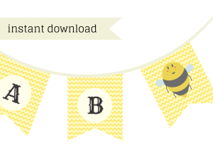 Free Mommy To Bee Baby Shower Printable Baby Shower