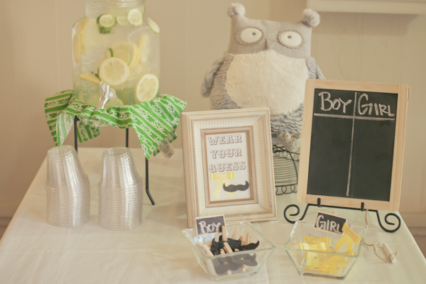 Green And Yellow Baby Shower Baby Shower Ideas Themes Games