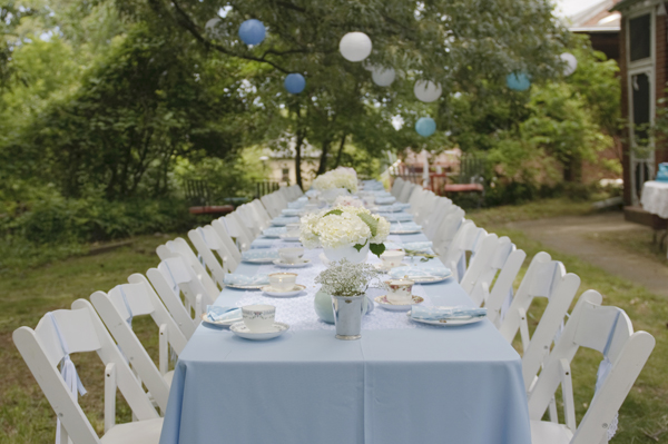 Blue White Pastel Tea Party Baby Shower 19 Baby Shower Ideas