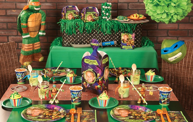 Baby shower ideas plan the perfect teenage mutant ninja for Tmnt decorations