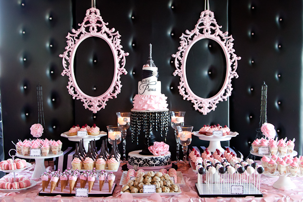 Paris Inspired Baby Shower Baby Shower Ideas Themes Games