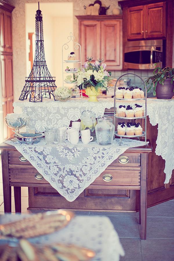 Purple Parisian Baby Shower Baby Shower Ideas Themes