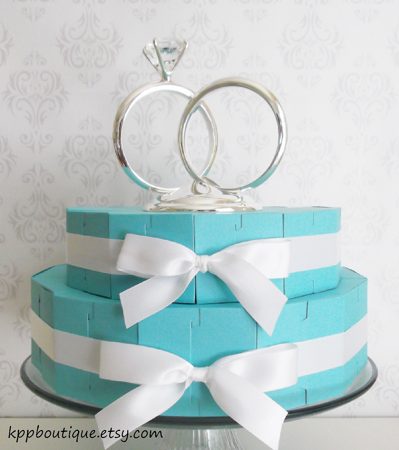Tiffany & Co. Inspired Baby Shower favor - Baby Shower Ideas ...
