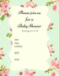 Free baby shower invitations hand fill in baby shower ideas free shabby chic baby shower invitation filmwisefo