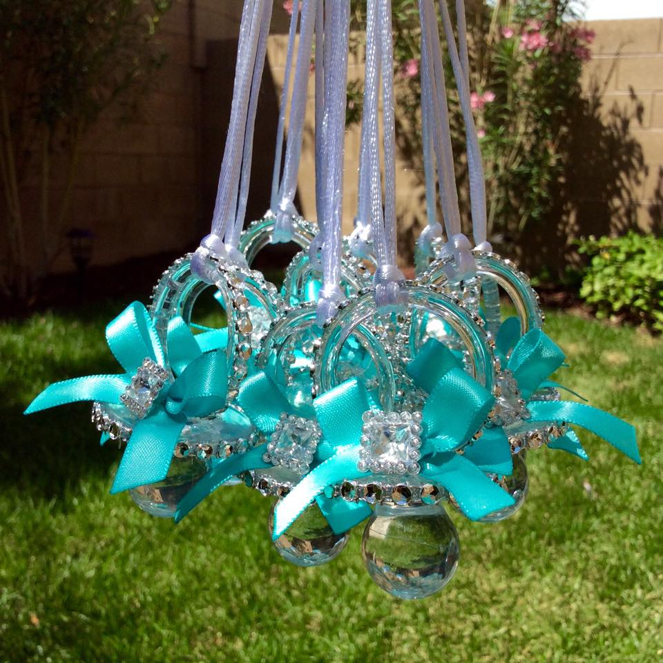 Tiffany Blue Baby Pacifier Baby Shower Ideas Themes