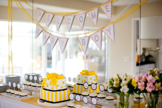 Bumble Bee Baby Shower For Boy