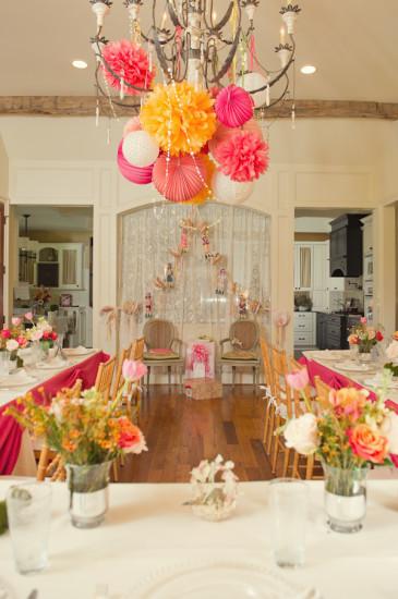 Pink Orange Baby Shower Baby Shower Ideas Themes Games