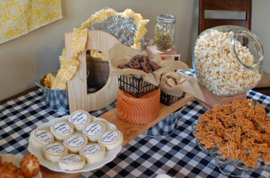 ... Stout Baby Farm Theme Food Table ...