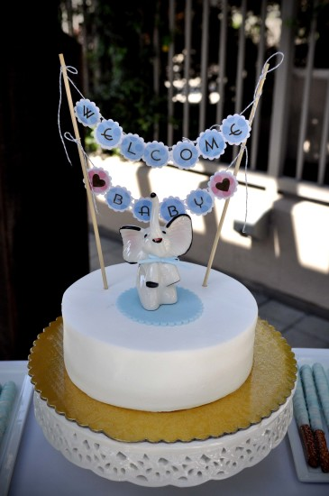 Sweet Blue Elephant Baby Shower Baby Shower Ideas