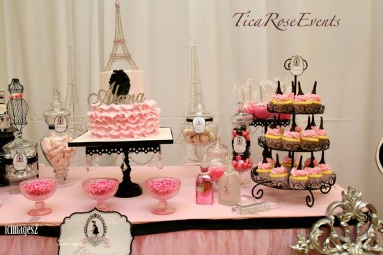 Ohh Lala Its A Girl Paris Baby Shower Baby Shower Ideas Themes