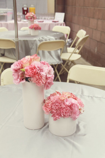 Pretty In Pink And Gray Baby Shower Baby Shower Ideas