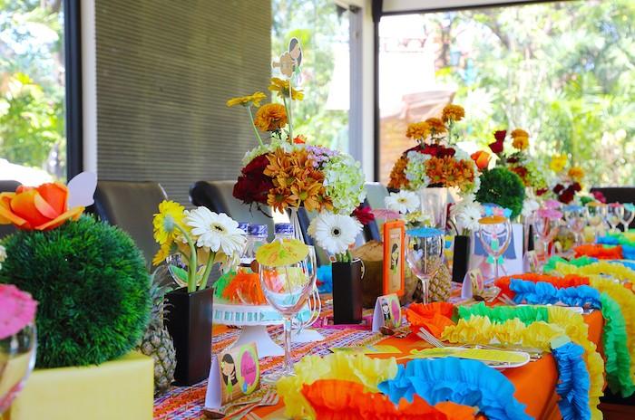 Aloha Table Setting In Hawaiisan Style