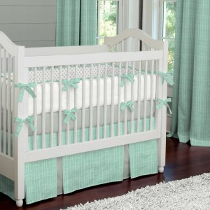Mint Gold Modern Nursery