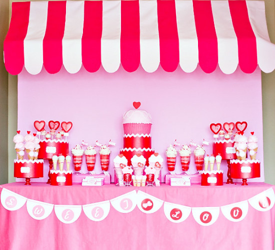 Retro Valentine's Day Party