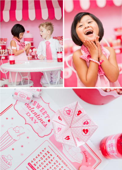 Retro Valentine's Day Party decor