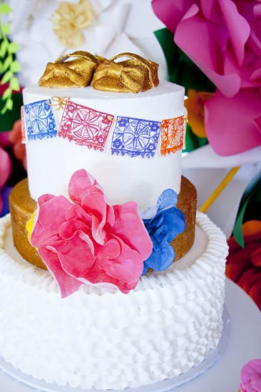 mexican baby shower cakes