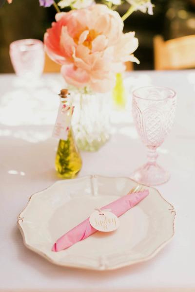 Shabby Chic Outdoor Garden Baby Shower Ideas Elegant Table