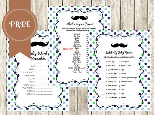 Mustache Invite for good invitation ideas