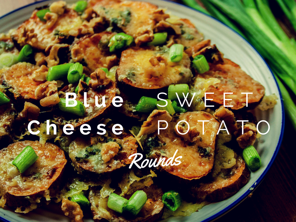 How To Make Blue Cheese Sweet Potato Rounds Savoury Baby Shower Food Ideas