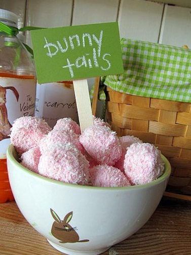 Bunny Tail Snacks Baby Shower Ideas Themes Games