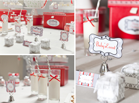 fabulouschristmasthemedbabyshowerfavors Baby Shower Ideas