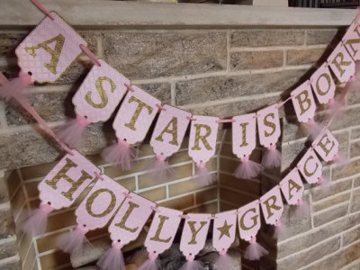 embossed decorations a star is born baby shower favorite finds baby shower ideas