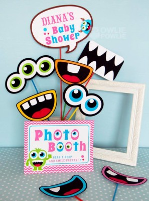 bash baby shower photobooth baby shower ideas themes games