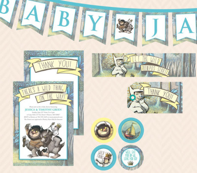 where the wild things are baby shower baby shower ideas themes