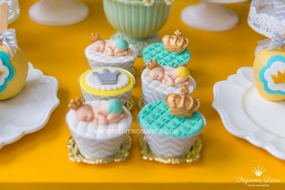 prince fondants little prince crown baby shower baby shower ideas
