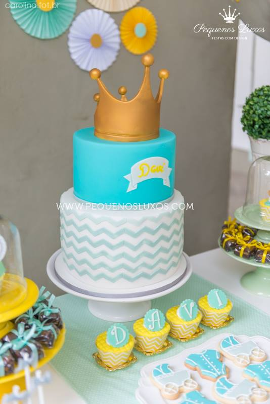 Little Prince Crown Baby Shower Baby Shower Ideas Themes Games