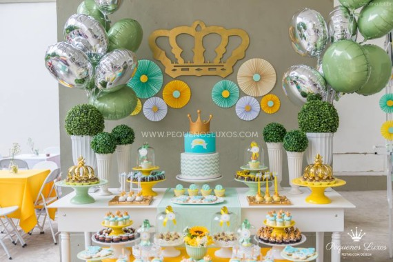 Beautiful Little Prince Crown Baby Shower
