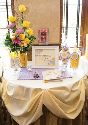 Sweet Lemon Amp Lavender Baby Shower Baby Shower Ideas