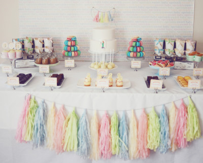 pretty pastel baby shower decorations baby shower ideas themes