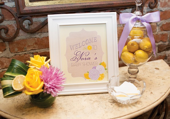 lemon lavender baby shower baby shower ideas themes games