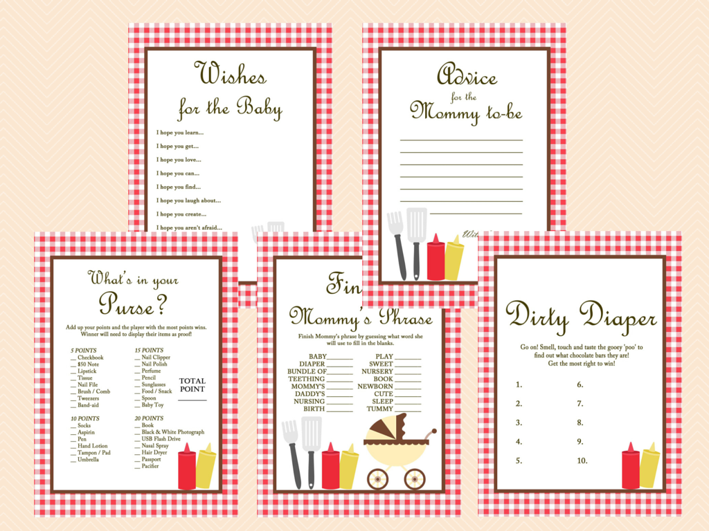 bbq baby shower games baby shower ideas themes games