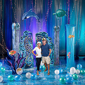 Basic Set The Stage Under The Sea Party Kit Baby Shower