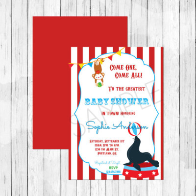 circus baby shower theme ideas Baby Shower Ideas Themes Games