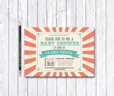 Circus Carnival Themed Baby Shower Ideas Baby Shower Ideas