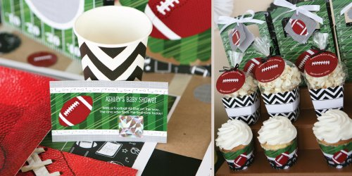 Football Themed Baby Shower Decoration Ideas Baby Shower Ideas