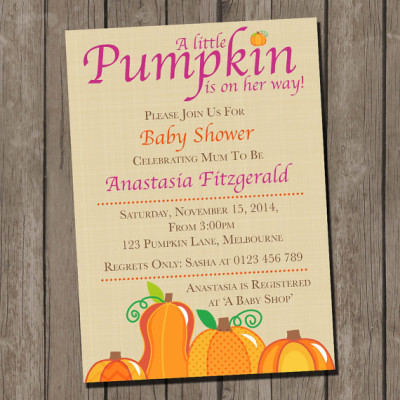 Fall autumn baby shower ideas baby shower ideas themes games pumpkin baby shower invitation little pumpkin baby shower filmwisefo