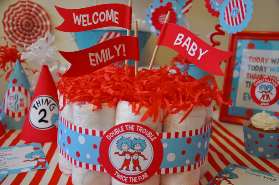 Dr Seuss Edible Cake Decorations