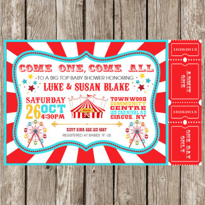 circus baby shower theme ideas - Baby Shower Ideas - Themes - Games