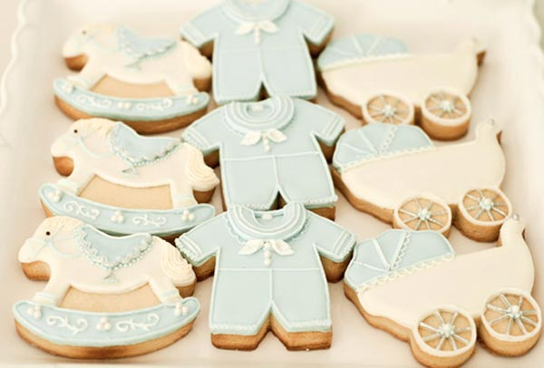 Baby Blocks Baby Shower Baby Boy Cookies Baby Shower Ideas