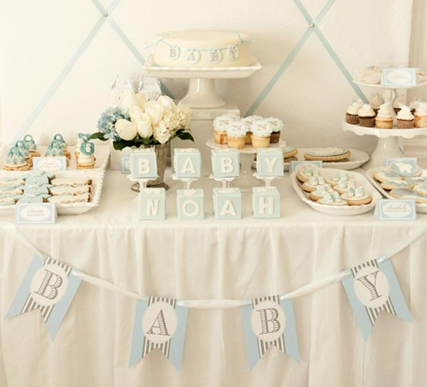 baby boy dessert table baby shower baby shower ideas themes