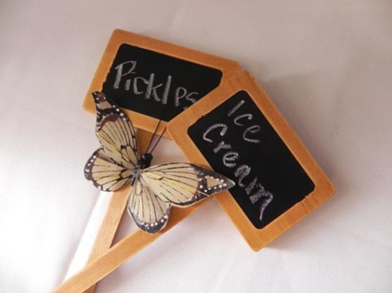 pickles-ice-cream-twins-baby-shower-sign-in-chalkboard