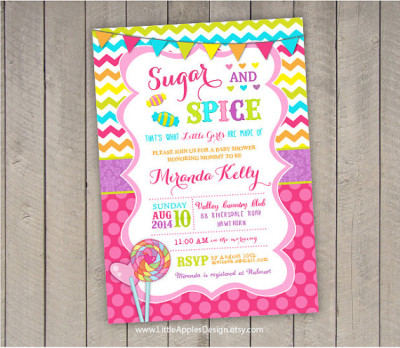 Sugar and Spice Baby Shower Ideas Baby Shower Ideas Themes Games
