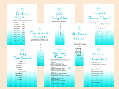 Under The Sea Themed Baby Shower Ideas Baby Shower Ideas Themes