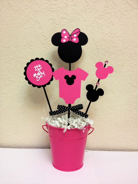 Minnie Mouse Baby Shower Decoration Centerpieces - Its a ...