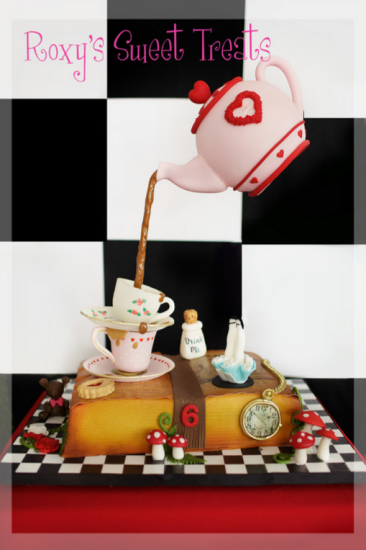 Alice In Wonderland Mad Hatter Tea Party Baby Shower